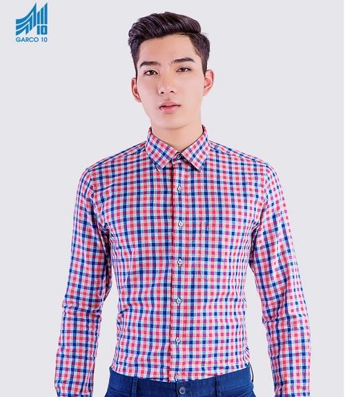 Men plaid shirt