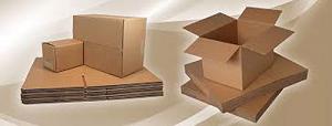 Pressed plastic, rattan, wood box