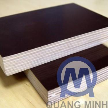 Hardwood film coated formwork 18mm
