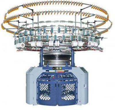 Single 4/6 Color Auto-Striper Computerized Jacquard Knitting Machine