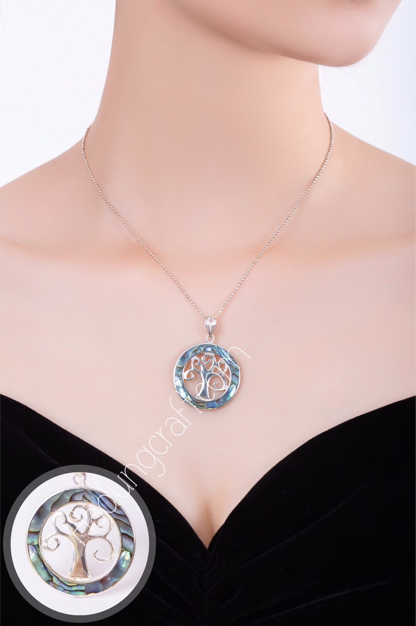 Pearl Mosaic Silver Jewelry
