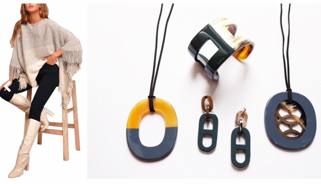 Lacquer Horn Jewelry